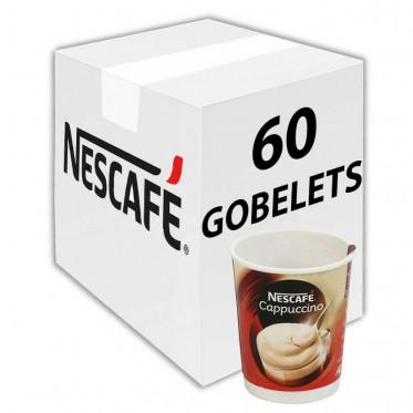 Gobelet Pré-dosé Premium au Carton Nescafé Cappuccino - 60 boissons
