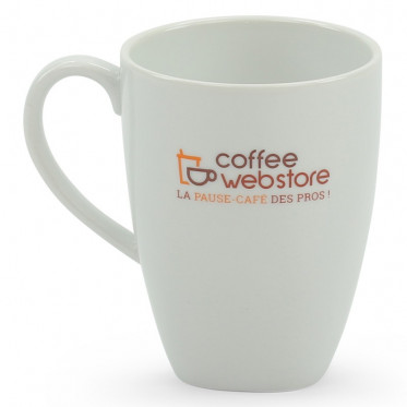 Mug Coffee-Webstore porcelaine : Cappuccino 30 cl - 6 tasses