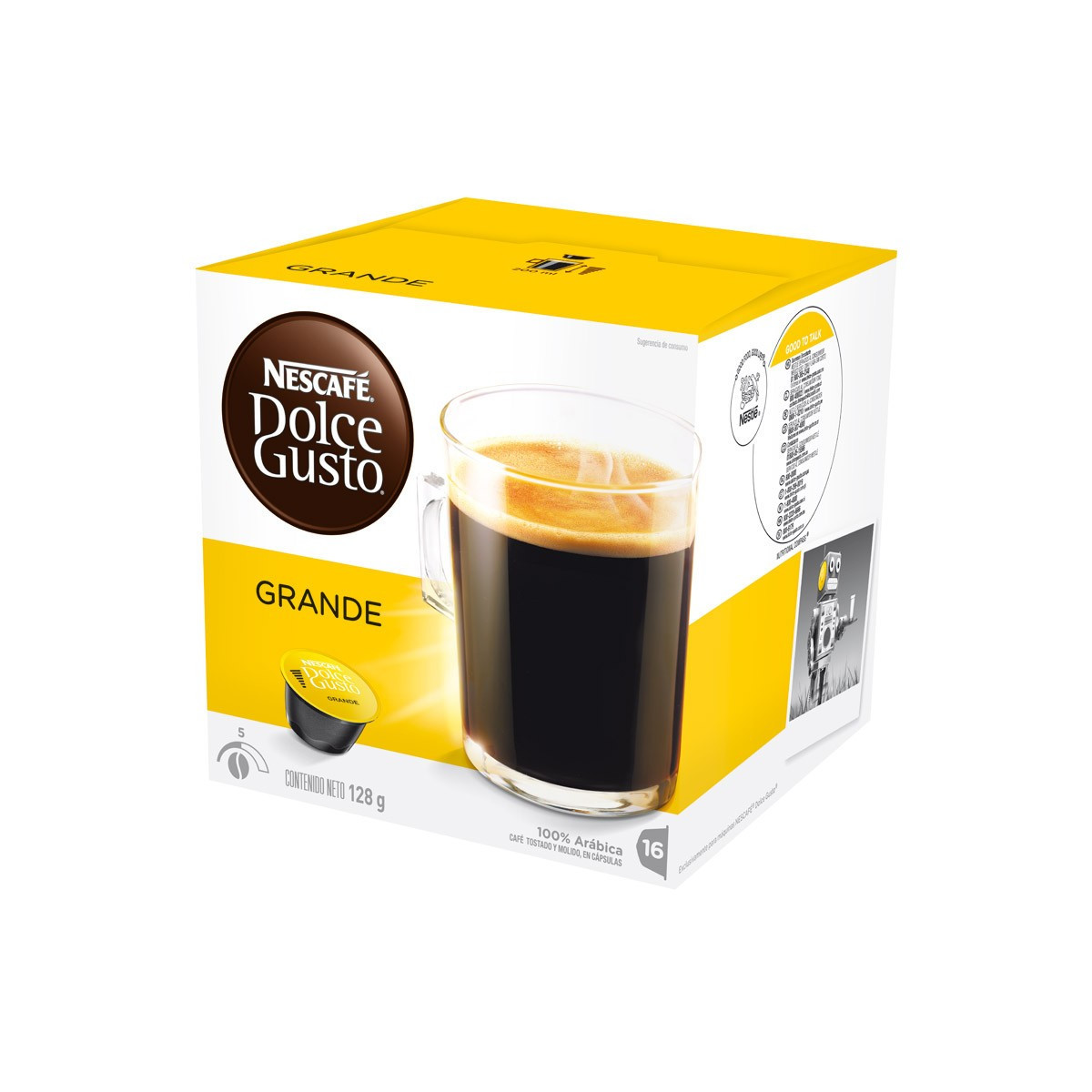 capsules dolce gusto grande 16 capsules. Black Bedroom Furniture Sets. Home Design Ideas