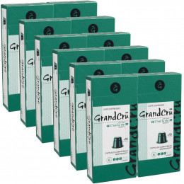 Capsules Nespresso Compatibles Grand Cru C'est la Vie - 12 paquets - 120 capsules