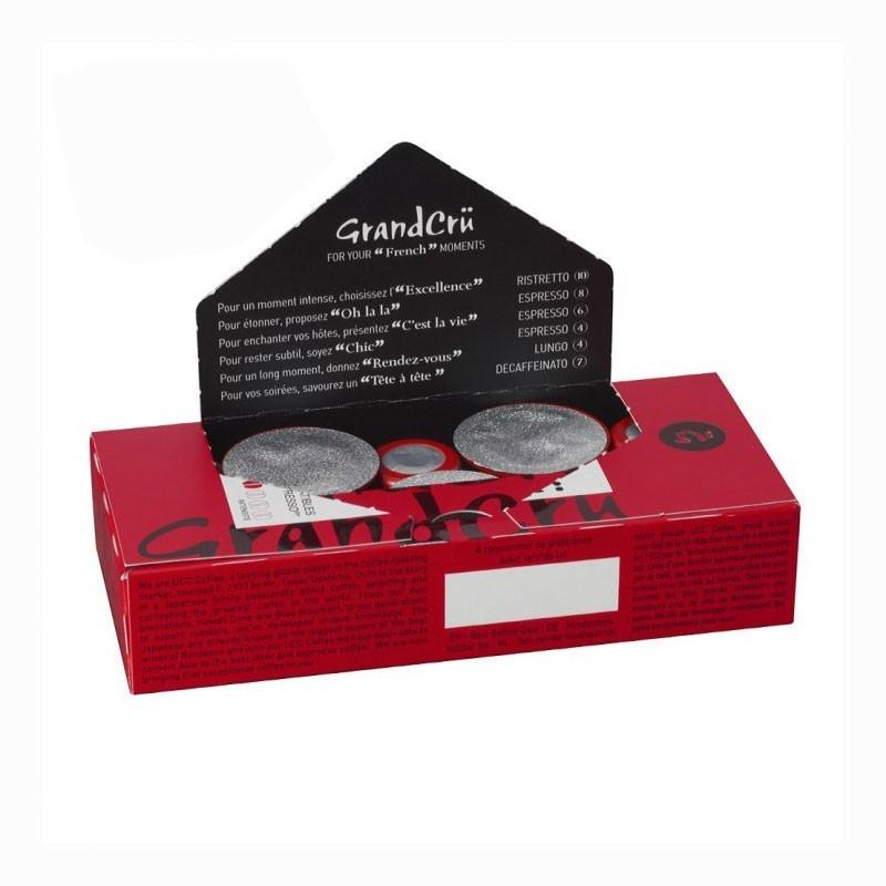 capsules nespresso compatibles grand rendez vous 12 paquets 120 capsules. Black Bedroom Furniture Sets. Home Design Ideas
