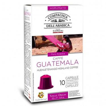 capsule nespresso compatible cie dell 39 arabica guatemala. Black Bedroom Furniture Sets. Home Design Ideas