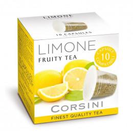 Capsule Thé Nespresso Compatible Corsini Thé Citron - 10 capsules