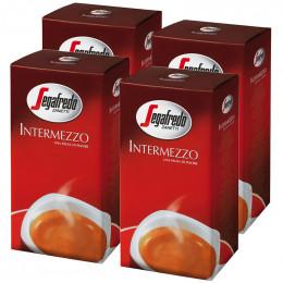 Lot de 4 Paquets Café Moulu Segafredo Intermezzo : 1 Kg