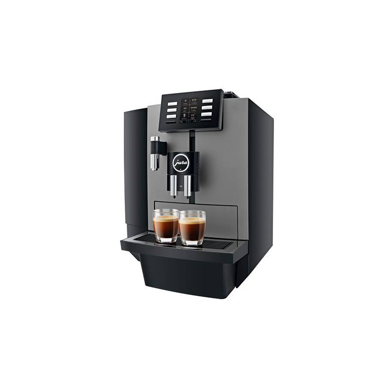 machine caf en grains jura x6 aroma g3 dark inox coffee webstore. Black Bedroom Furniture Sets. Home Design Ideas