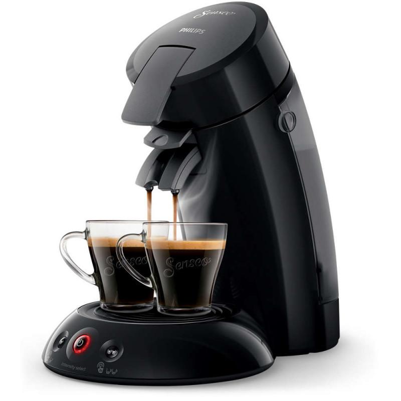 machine dosettes souples senseo original philips hd6554 noir carbone coffee webstore. Black Bedroom Furniture Sets. Home Design Ideas
