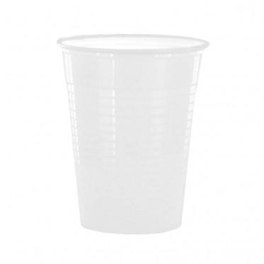 Gobelet en Plastique Blanc pour boissons chaudes 15 cl - par 100