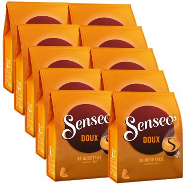 Dosette Senseo Doux 3 paquets - 108 dosettes