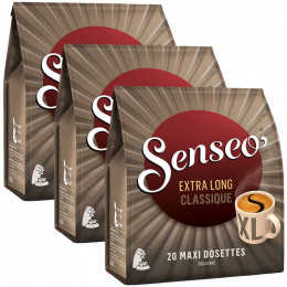 Dosette Senseo Classique Extra Long 3 paquets - 60 maxi dosettes