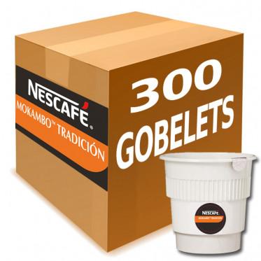 Gobelet Pré-dosé Café Nescafé Mokambo Tradicion - au carton 300 boissons