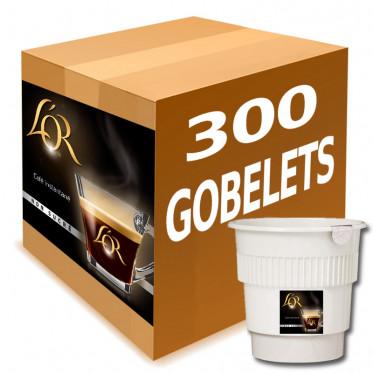 Gobelet Pré-dosé Café L'Or Nature - Carton 300 boissons