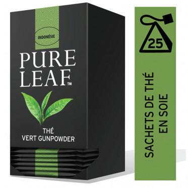 Thé Vert Gunpowder Pure Leaf - 25 pyramides