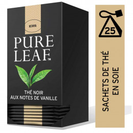 Thé Noir avec des notes de Vanille Pure Leaf - 25 pyramides