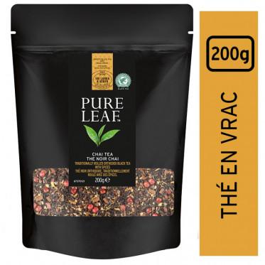 Thé Noir Chai Pure Leaf - En Vrac - Poche 200 gr
