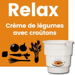 Gobelet Pré-dosé Crème de Légumes avec Croutons - 20 boissons
