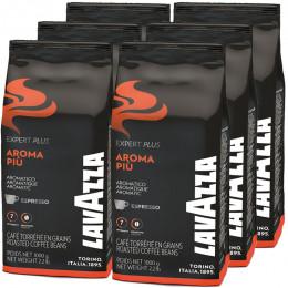 Café en Grains Lavazza Expert Aroma Piu - 6 Kg