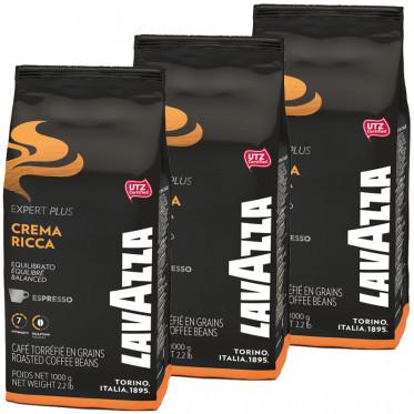 Café en Grains Lavazza Expert Crema Ricca - 3 Kg