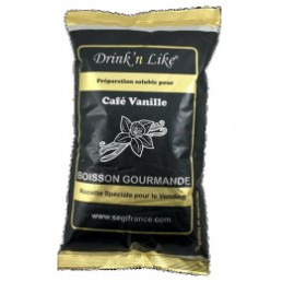 Cafe gourmand pour distributeur automatique Drink'n Like Café Vanille Extra