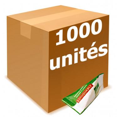 Berlingot de Sucre Blond de Canne Éthiquable Origine Paraguay - Carton 1000 pièces