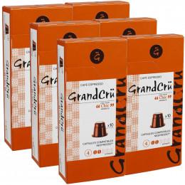 Capsules Nespresso Compatibles Grand Cru Chic - 6 paquets - 60 capsules