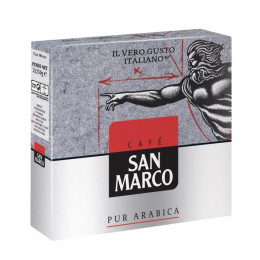 Café Moulu San Marco Pur Arabica : 4x250gr