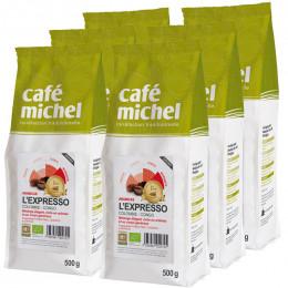 Café en Grains L'Expresso - Café Michel - 6 kg