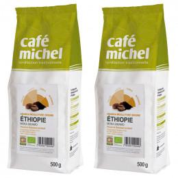 Café Moulu Éthiopie Moka Sidamo - Café Michel - 1 kg