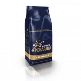 Café en Grains Mokarabia - President - 1 Kg