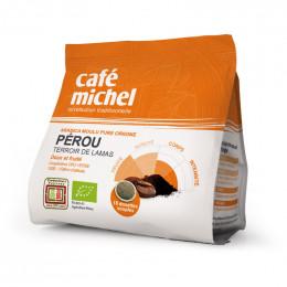 Dosettes Souples Pérou Bio - Café Michel - 18 pads