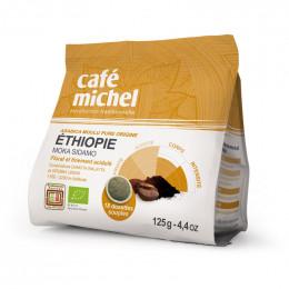 Dosettes Souples Éthiopie Bio - Café Michel - 18 pads