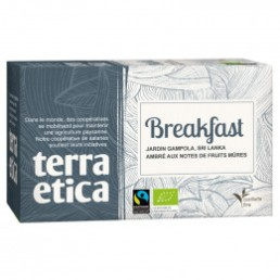 Thé English Breakfast - Origine Sri Lanka - Terra Ética - 20 sachets
