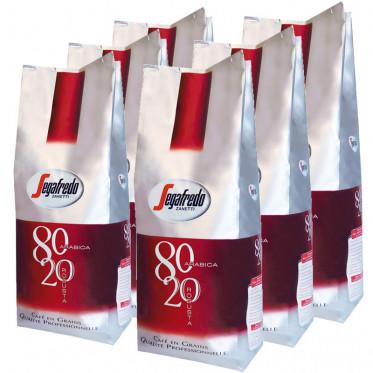 Café en Grains Segafredo 80-20 (80 arabica -20 robusta) - 6 Kg
