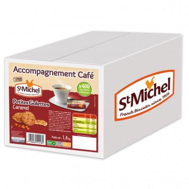 Biscuit en Gros : St Michel Petites Galettes au Caramel - 400 pièces