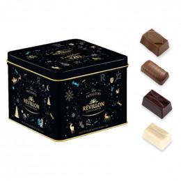 Boite Collector en métal Révillon : Assortiment de Chocolats - 350 gr