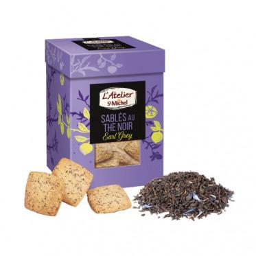 Biscuits Atelier St Michel - Sablé thé noir Earl Grey - 130 gr