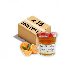 Confiture Bonne Maman - Mini pot en verre de confiture Cerise - 60x 30g
