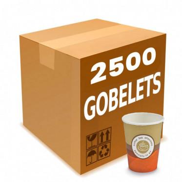 Gobelet Distributeur Automatique en Carton pour boissons chaudes 18 cl - par 2500