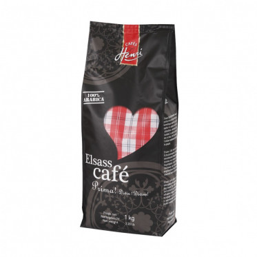 Café en Grains - Cafés Henri Elsass - 1 Kg