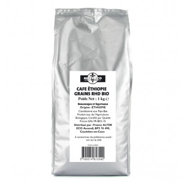 Café en Grains Alter Eco Ethiopie - 1 Kg