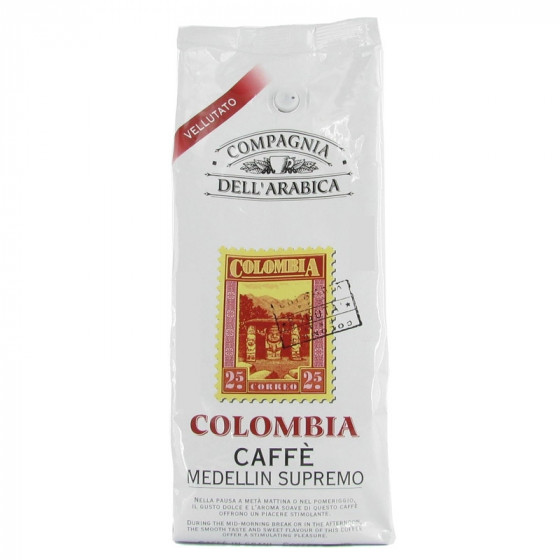 caf en grains compagnia dell 39 arabica colombia 500 gr coffee webstore. Black Bedroom Furniture Sets. Home Design Ideas