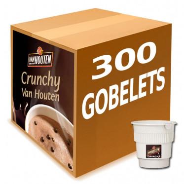 Gobelet Pré-dosé Van Houten Chocolat Chaud Crunchy croustillant - 300 boissons
