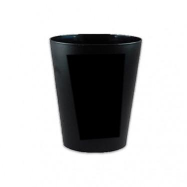 Gobelet réutilisable 10 cl - Noir - par 10