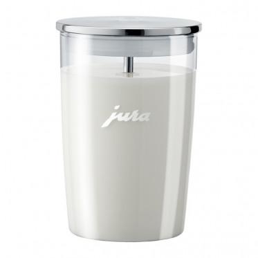 Récipient Pot à lait en verre 0.5L pour machine à café Jura