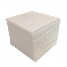 Lot de 50 serviettes en papier 10 x 10 cm
