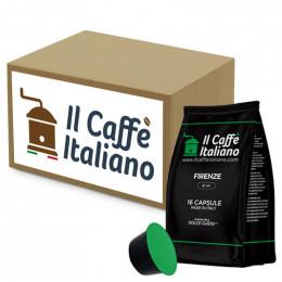 Capsule Dolce Gusto Compatible Il Caffe Italiano - Firenze - 96 Capsules