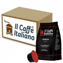 Capsule Dolce Gusto Compatible Il Caffe Italiano - Venezia - 96 Capsules
