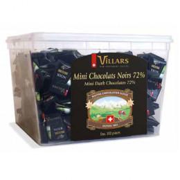 Tubo Napolitains Villars - Chocolat Noir 72% – 300 pièces - 1,5 Kg