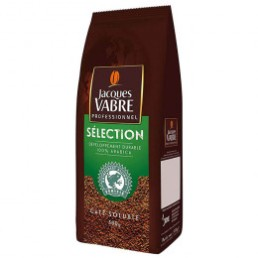 Café Soluble Jacques Vabre Selection 100% Arabica pour Distributeur Automatique - 500 gr