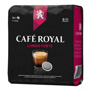 Dosette compatible Senseo Café Royal Lungo Forte - 36 pads