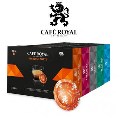 PACK Découverte et dégustation - Capsule Nespresso PRO Compatible Café Royal Office Pads - 250 capsules